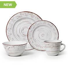 Pfaltzgraff Trellis White 16-Piece Dinnerware Set