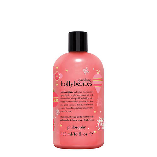 Philosophy Sparkling Hollyberries Holiday Shower Gel