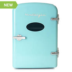 Nostalgia Electrics Retro 6-Can Personal Refrigerator