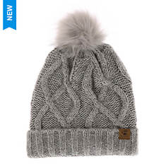 BEARPAW Women's Twisted Cable Knit Beanie