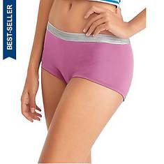 Hanes® Women's Cool Comfort Microfiber Boyshorts 6-Pack