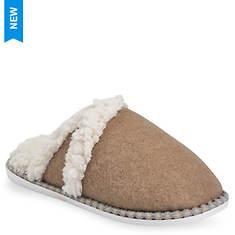 GaaHuu Faux Wool V Notch Scuff Slipper (Women's)