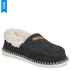 GaaHuu Faux Wool Mocassin Slipper (Women's)