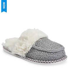 GaaHuu Textured Knit Mocassin Scuff Slipper (Women's)