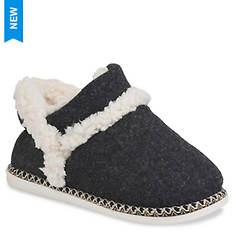 GaaHuu Faux Wool Ankle Slipper Boot (Women's)