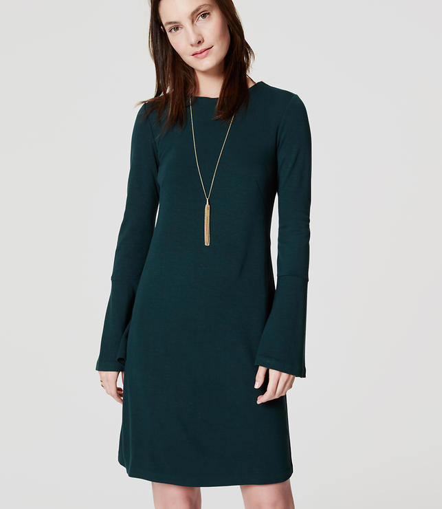 Primary Image of Bell Sleeve Dress