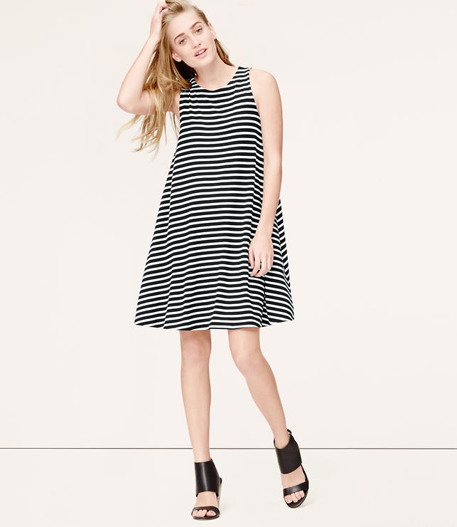 Primary Image of Striped Swing Dress