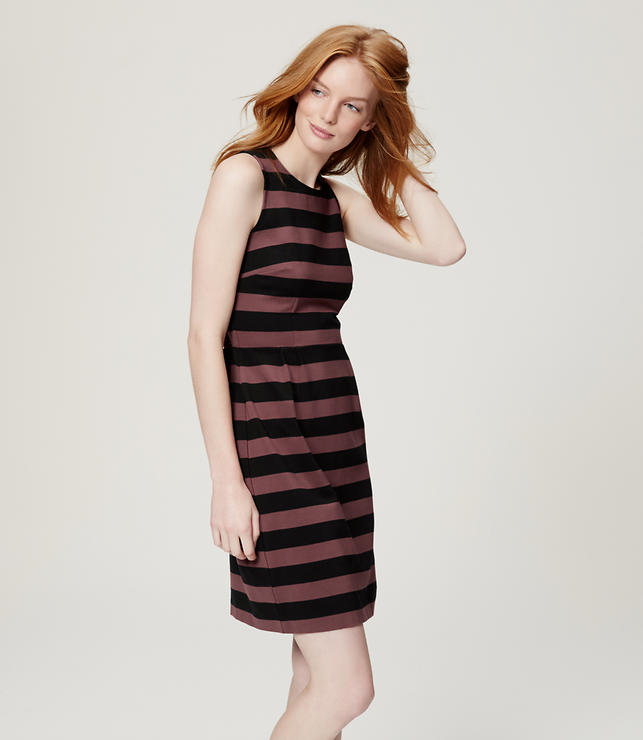 Primary Image of Striped Sheath Dress