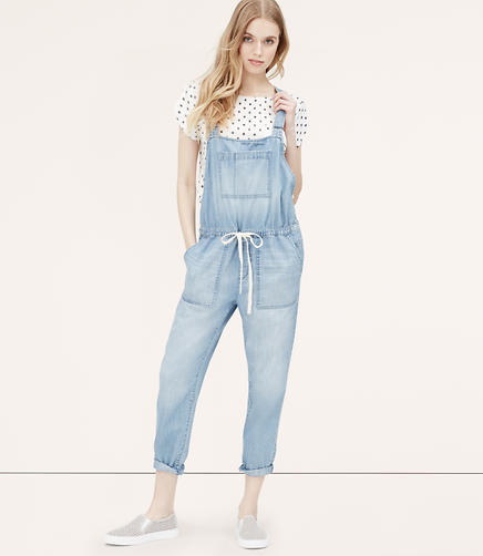Image of Drawstring Overalls