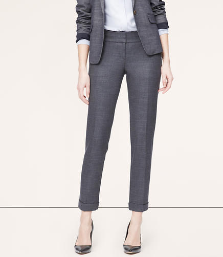 Image of Tall Tweed Straight Leg Pants in Marisa Fit