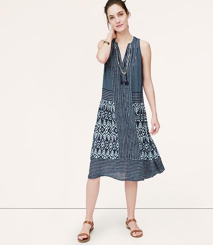 Image of Boho Midi Dress