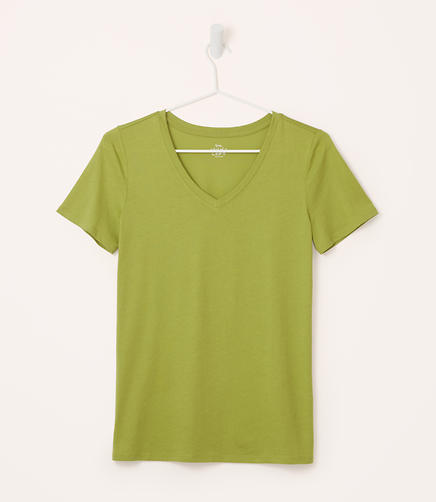 Image of Refined V-Neck Tee