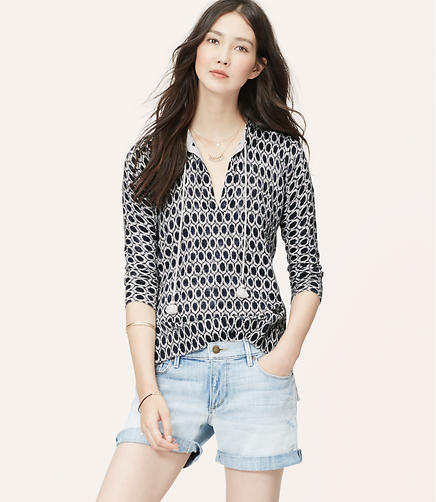 Image of Ikat Dot Summer Sweater