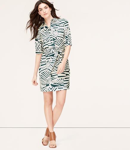 Image of Maze Shirtdress