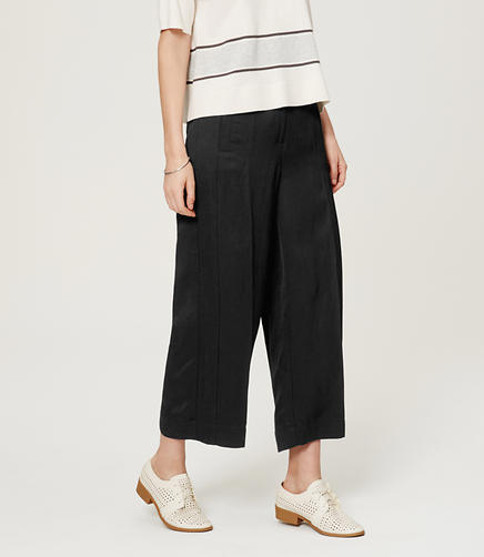 Image of Tall Cropped Wide Leg Pants in Marisa Fit