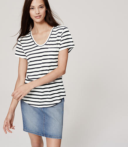 Image of Striped Vintage Broken In Tee
