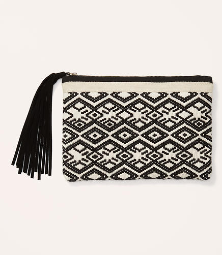 Image of Tribal Jacquard Pouch