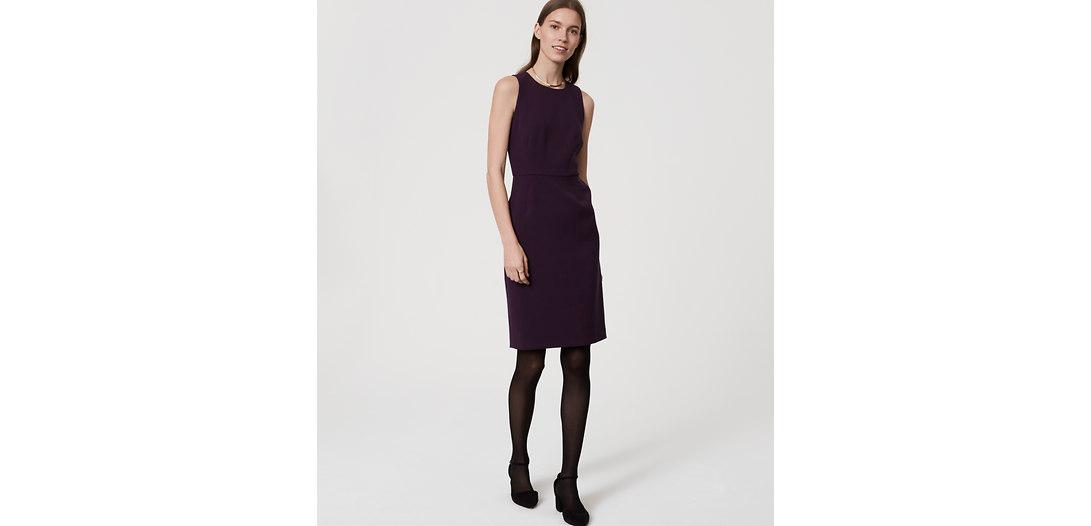 LOFT Tall Pocketed Sheath Dress