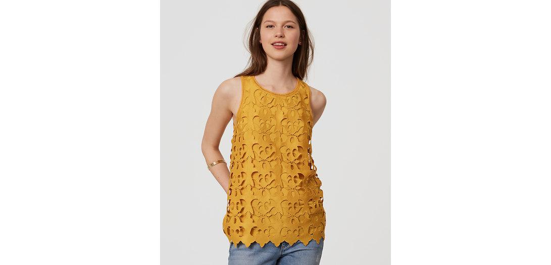 LOFT Sunny Lace Top