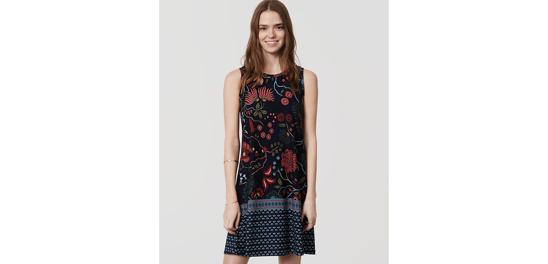 LOFT Primavera Swing Dress