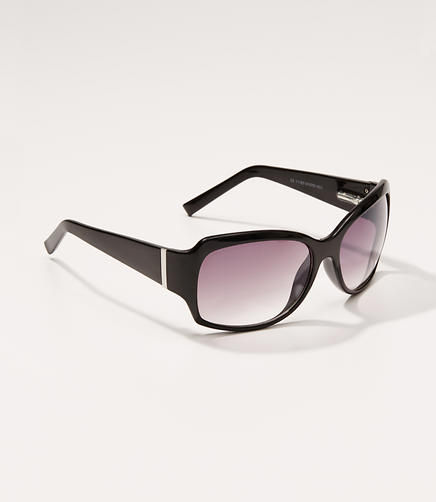 Image of Tortoiseshell Print Square Sunglasses