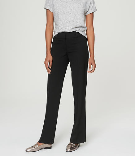 Image of LOFT Custom Stretch Trouser Pants in Julie Fit with 31 Inch Inseam