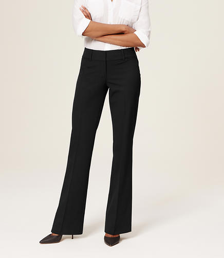 Image of Petite Custom Stretch Trouser Leg Pants in Julie Fit