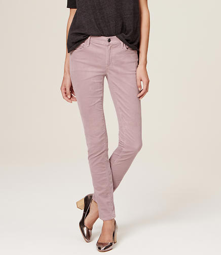 Image of Petite Modern Skinny Corduroy Pants