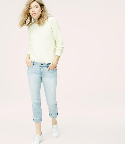 Image of Lou & Grey Slouchy Straight Crop Jeans