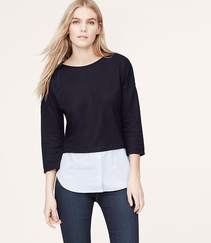 Image of Petite Two-In-One Top