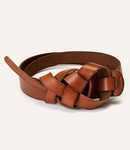 Image of Knotted Leather Belt