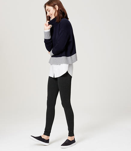 Image of Seamed Ponte Pants