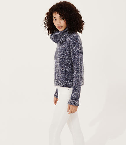 Image of Lou & Grey Woodland Knit Turtleneck Sweater