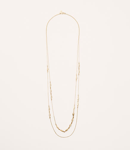 Image of Pave Multistrand Necklace