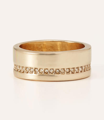 Image of Wide Pave Ring
