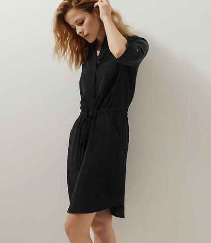 Image of Lou & Grey Silkwash Shirtdress