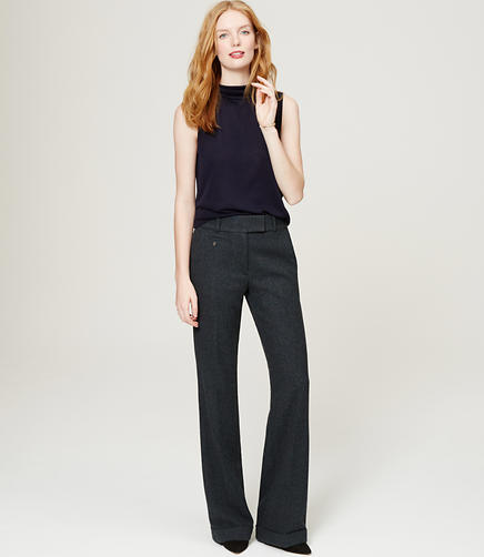 Image of Herringbone Trousers
