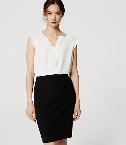 Image of Tall Custom Stretch Pencil Skirt