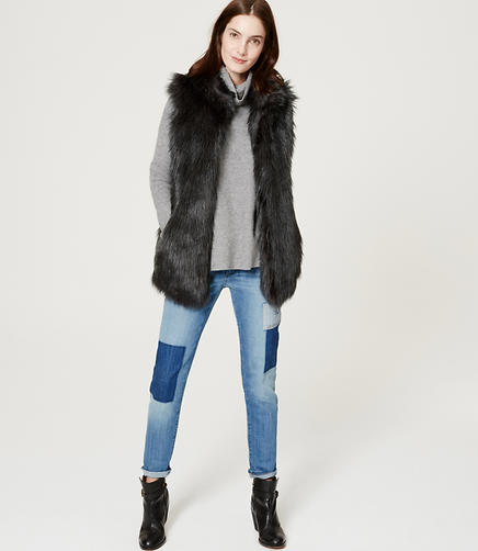 Image of Faux Fur Vest