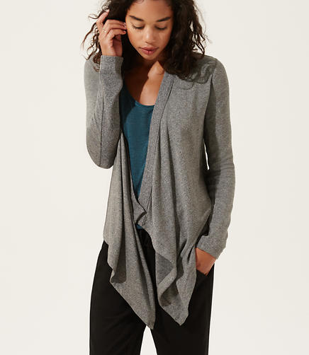 Image of Lou & Grey Signaturesoft Cascade Cardigan