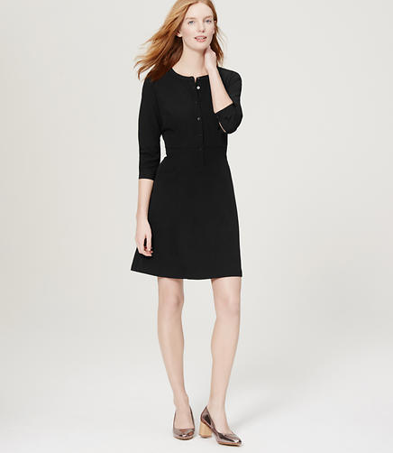 Image of Flare Shirtdress
