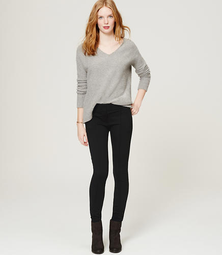 Image of Pintucked Ponte Pants in Marisa Fit