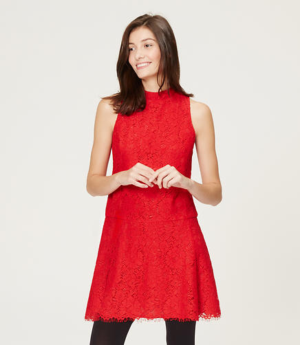 Image of Lace Flippy Dress