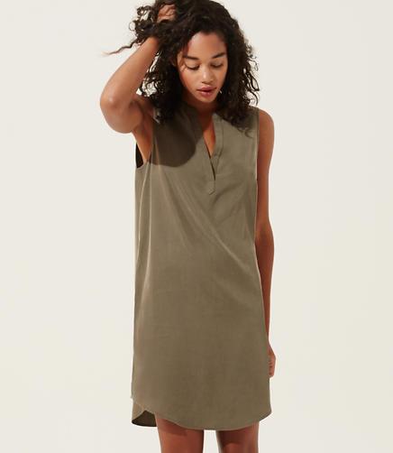Image of Lou & Grey Silkwash Tank Dress