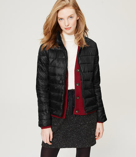 Image of Petite Easy-Go Puffer Jacket