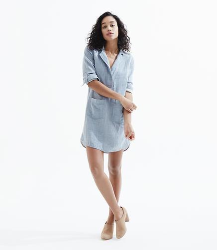 Image of Lou & Grey Chambray Palette Shirtdress