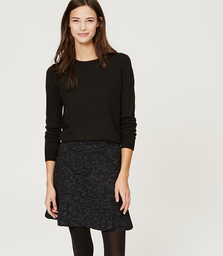 Image of Melange Flippy Skirt