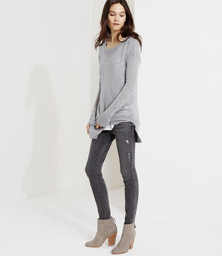 Image of Lou & Grey Skinny Ankle Jeans