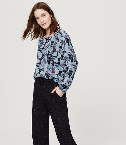 Image of Floral Pocket Blouse