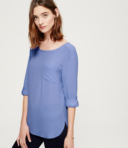 Image of Pocket Blouse